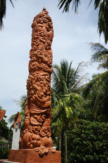 Vũ điệu tò he được Ủy ban kỷ lục Guiness Việt Nam đánh giá là một trong những tác phẩm độc đáo.  Ảnh Minh Hải