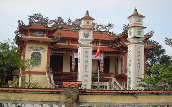 Nhà thờ tộc Đỗ tại làng Diệm Sơn (Điện Tiến, Điện Bàn). Ảnh: LÊ THÍ
