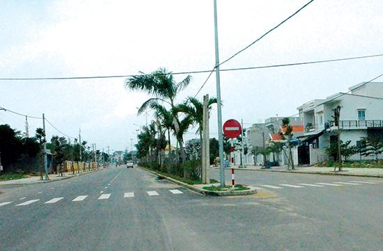 Một góc đô thị mới Điện Nam - Điện Ngọc. Ảnh: T.H