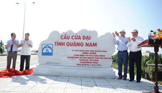 The bridge for socio-economic development in provincial eastern region.