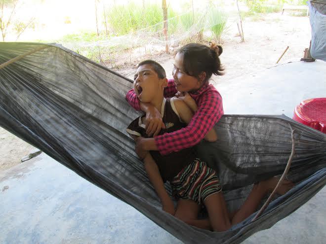 Em Nguyễn Văn Hải chỉ nằm một chỗ.