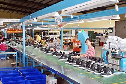 A leather and footwear enterprise in Quang Nam (picture: Internet).