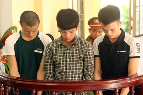 Các đối tượng tại phiên tòa ngày 3.11.