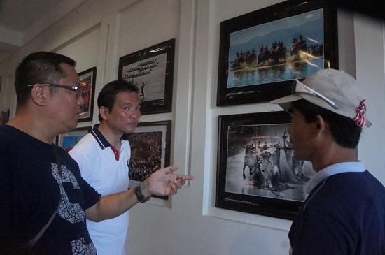 Triển lãm đã mang đến cho du khách một cái nhìn mới lạ về các giá trị văn hóa, thiên nhiên Việt Nam