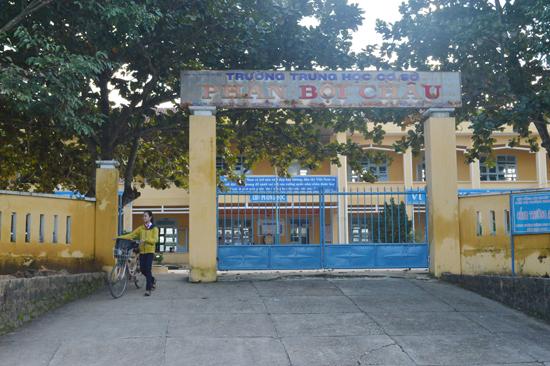 Trường THCS Phan Bội Châu vẫn tiếp tục triển khai áp dụng mô hình trường học mới. Ảnh: V.LỘC