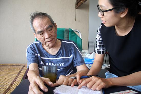 Nhà văn Hoàng Phủ Ngọc Tường.