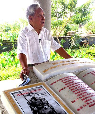 Nhà văn Lê Khôi. Ảnh: N.S.H