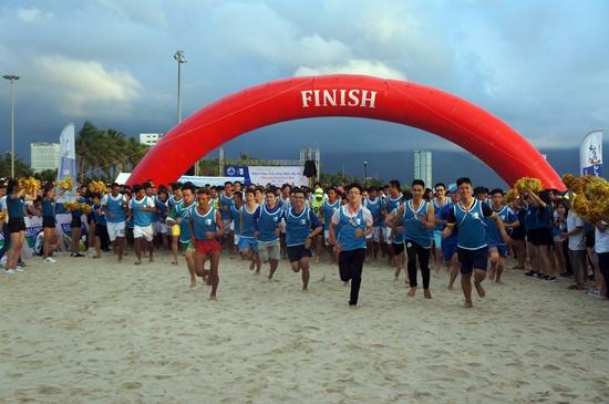 Cuộc thi thu hút trên 8000 vận động viên tham gia
