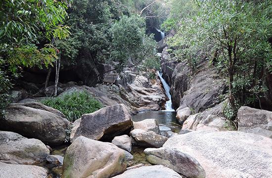 Suối Tiên được xem như một trong những suối đẹp nhất ở Quảng Nam.