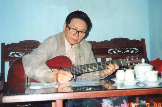 Nhạc sĩ Thanh Anh.