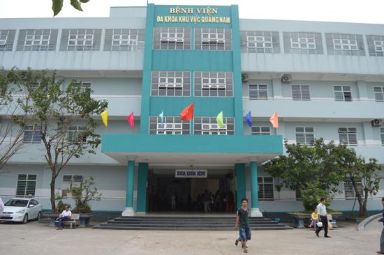 Bệnh viện Đa khoa khu vực Quảng Nam.