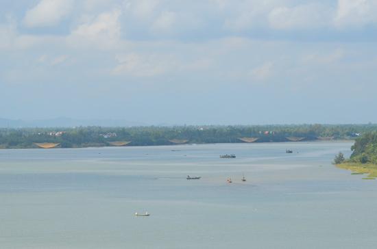 Sông Thu Bồn, qua xã Duy Hải, nơi cuối cùng đổ ra biển, sẽ là nơi phát triển đô thị năng động.