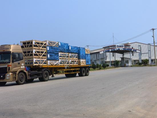 Hỗ trợ doanh nghiệp ổn định sản xuất, kinh doanh vẫn là mục tiêu hàng đầu để góp phần ổn định ngân sách nhà nước. Trong ảnh: Cảng Chu Lai - Trường Hải.