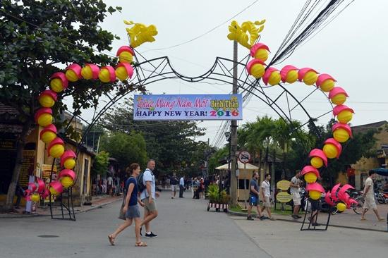 Khách đến Quảng Nam tăng hơn 17% trong 3 ngày nghỉ tết dương lịch