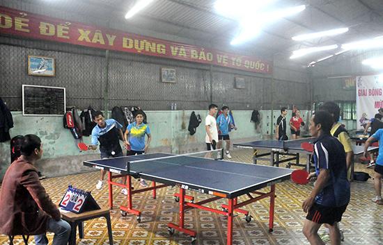 Giải bóng bàn TP.Tam Kỳ mở rộng chào năm mới 2016 thu hút nhiều tay vợt mạnh đến từ các địa phương trong tỉnh.
