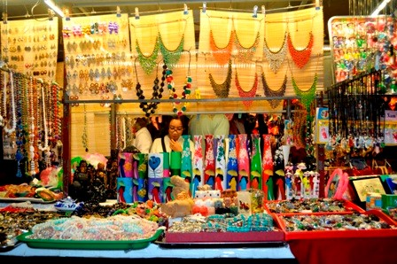 A variety of souvenirs in Hoi An