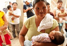 Mother and child health care programmes supported by SPIR.