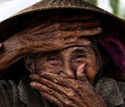 The world's most beautiful old woman