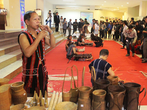 The Cotu's traditional crafts presented at the festival