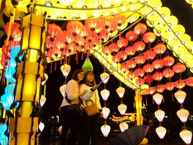 Lantern festival in Hoi An city