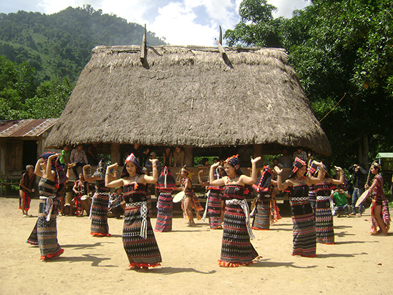 Ethnic people's dance in Nam Giang district, Quang Nam province