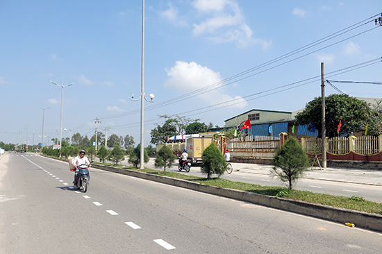 Cụm công nghiệp Thanh Hà.