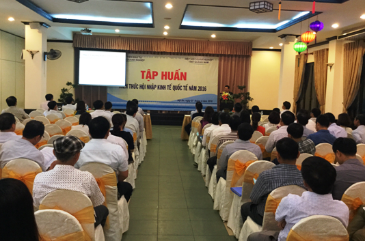A training course for international economic integration in Quang Nam province (picture: quangnam.gov.vn )