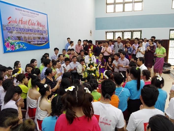Buon Pi Mai ceremony at the QNV