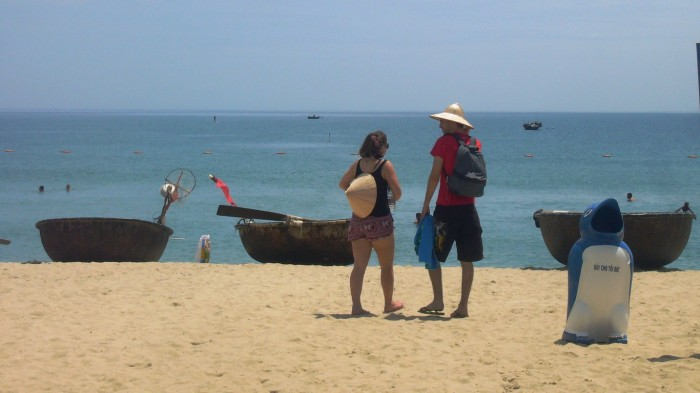 An Bang Beach attracts more tourists - Photo: Do Huan