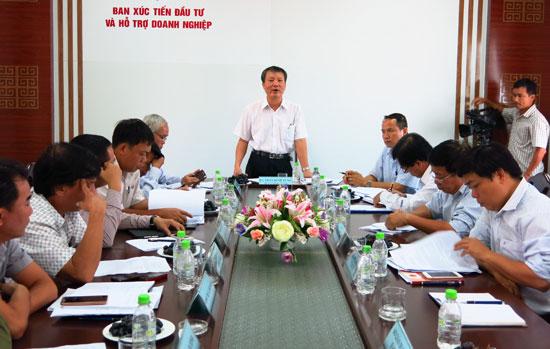Đối thoại thường kỳ, các cuộc hội nghị phân tích chỉ số PCI tổ chức thường xuyên đã làm nhiều doanh nghiệp hài lòng.