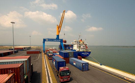 Cảng Tam Hiệp - Trường Hải. Ảnh: HẢI HOÀNG