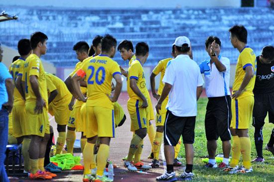 Đội U17 Quảng Nam tại giải U17 quốc gia. Ảnh: T.VY