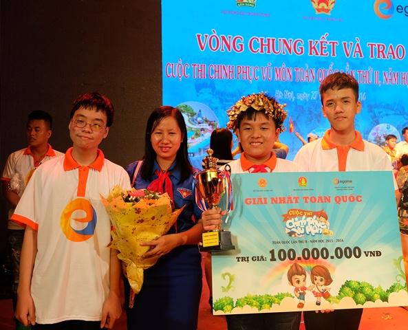 Các thí sinh Quảng Nam tham gia cuộc thi Chinh phục vũ môn toàn quốc lần thứ II. Ảnh: ĐỖ ĐIỂM