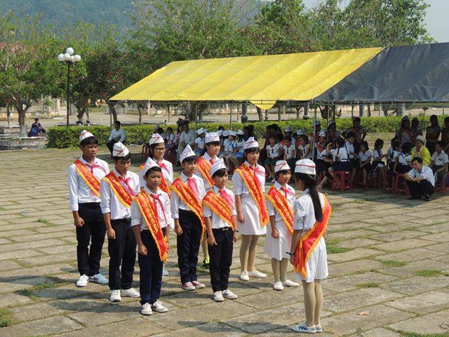 Hội thi Chỉ huy Đội giỏi và Phụ trách sao giỏi huyện Tây Giang