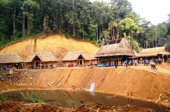 Làng trung tâm pơmu sẽ là nơi dừng chân, nghỉ dưỡng của các đại biểu và du khách ngay cạnh rừng pơmu Tây Giang.