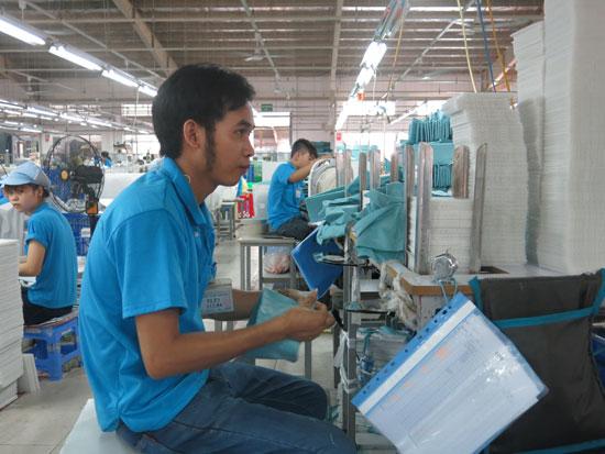 Kết quả sản xuất kinh doanh thuận lợi của doanh nghiệp sẽ tạo ra nguồn tăng trưởng mạnh cho ngân sách nhà nước. Ảnh: N.K