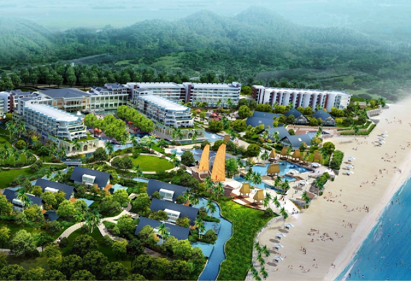 $4-billion South Hoi An resort project in Quang Nam province. Picture: duannewhoiancity