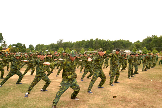Học kỳ trong quân đội - một chương trình rèn luyện kỹ năng bổ ích dịp hè.