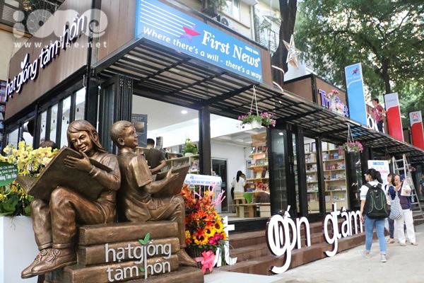 Đường sách ở Sài Gòn. (Ảnh minh họa)