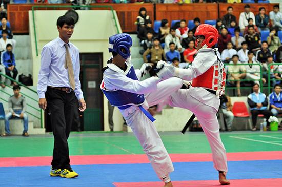 Giải Taekwondo tỉnh do Hội Karatedo Quảng Nam và Sở VH-TT&DL tổ chức.