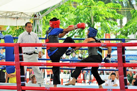 Giải võ cổ truyền tỉnh Quảng Nam góp phần phát triển và nâng cao chất lượng phong trào.Ảnh: A.SẮC