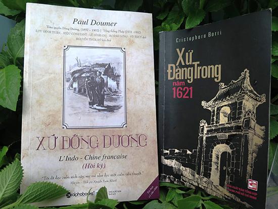 Xứ Đàng Trong năm 1621 và Xứ Đông Dương.