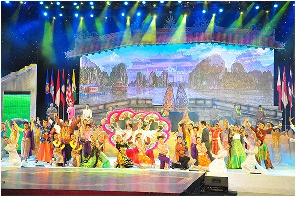 The opening ceremony of the 5th Quang Nam Heritage Festival.