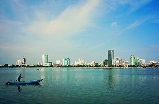 Sông Hàn - Đà Nẵng. Ảnh: PHƯƠNG THẢO