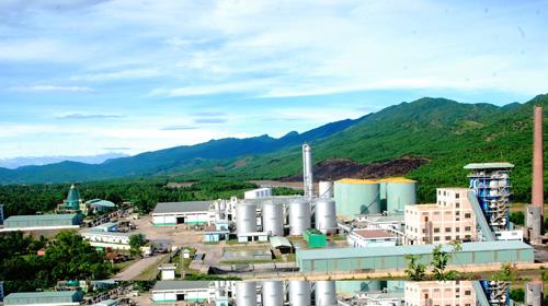 An ethanol plant in Dai Loc.