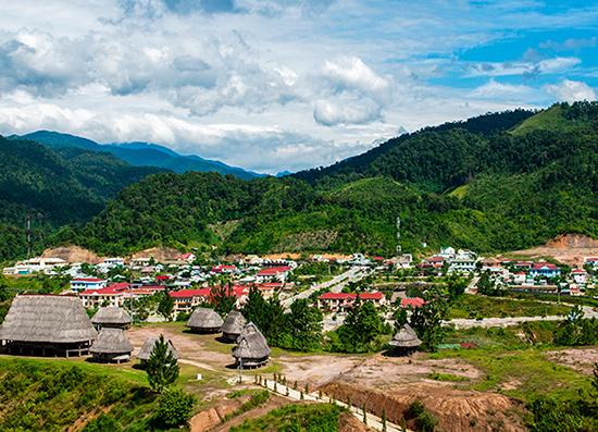 Phát triển đô thị ở các vùng mất cân đối và tỷ lê đô thị hóa còn thấp so với khu vực, nhất là các đô thị ở miền núi.
