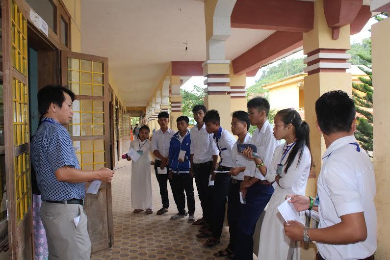 Tây Giang có 177 học sinh dự thi xét tốt nghiệp