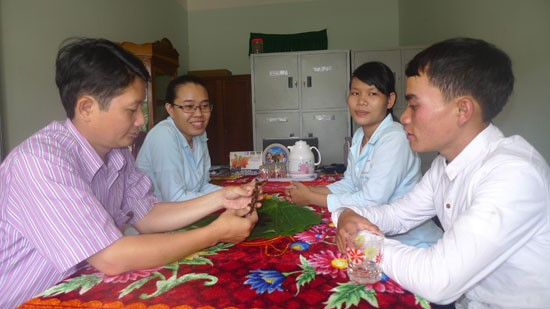 The samples of the 150-year-old Ngoc Linh ginseng tuber at the Centre of Ngoc Linh Ginseng.