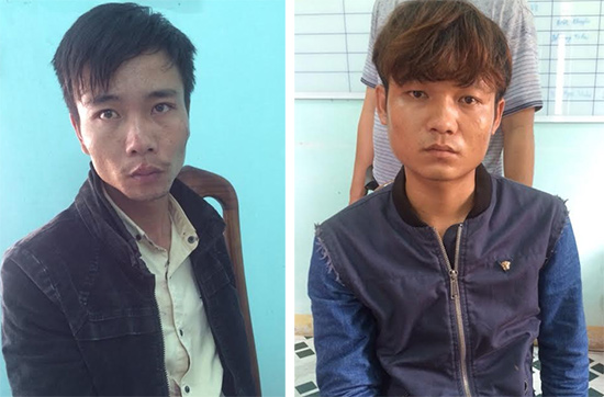 Trương Vĩnh Quốc, Trần Văn Tiến bị bắt giữ tại cơ quan điều tra.