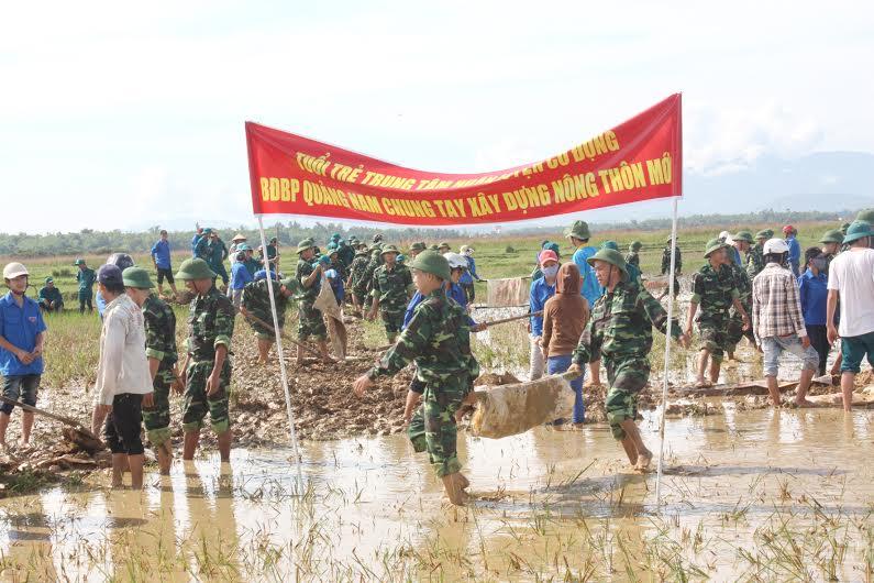 Bộ đội biên phòng tỉnh chung tay xây dựng nông thôn mới